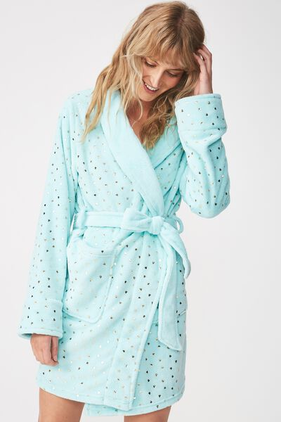 Bath Robe, HEART POLKA