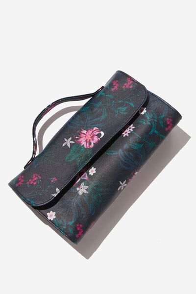 Cancun Cosmetic Case, JUNGLE FLORAL