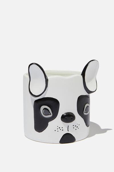 Small Shaped Planter, FRENCHIE