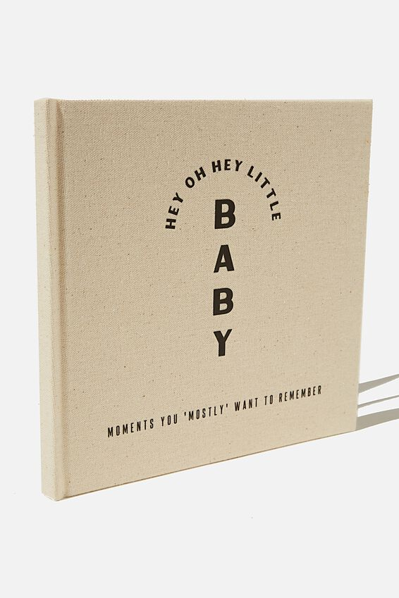 A5 Activity Book, HEY HEY BABY