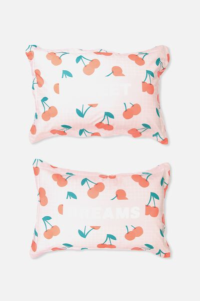 Standard Pillow Case Set, SWEET DREAMS