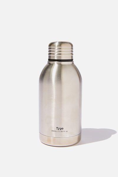 Mini Metal Drink Bottle, SILVER