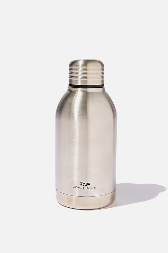 Mini Metal Drink Bottle, SILVER