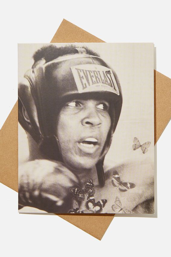 Blank Card, LCN ICO TERRY ONEIL BOXER