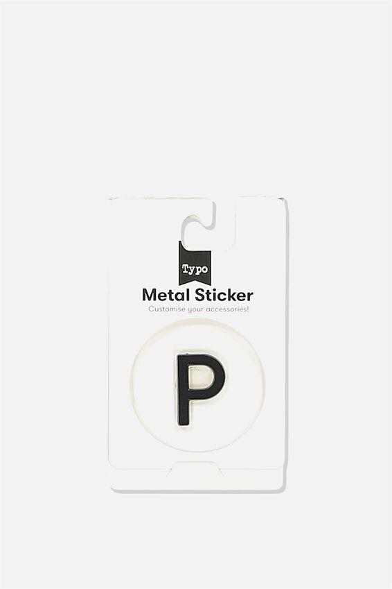 Metal Stickers, BLACK P