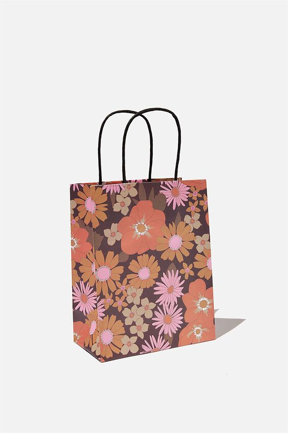 Get Stuffed Gift Bag - Small, STEVIE FLORAL