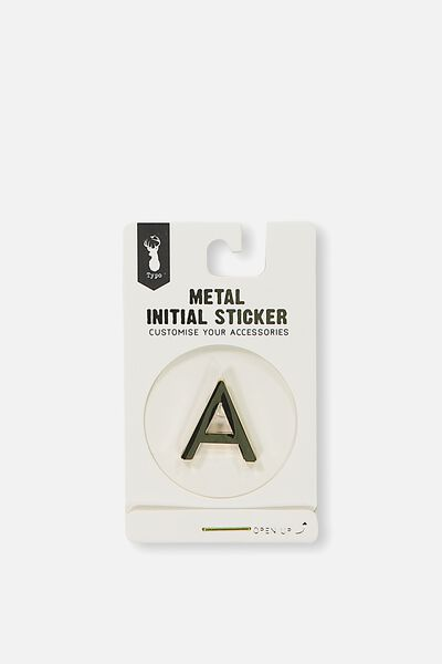 Metal Stickers, GOLD A