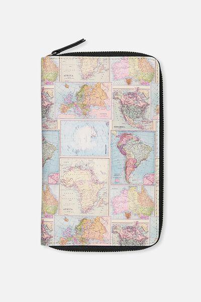 Odyssey Travel Compendium, WORLD MAP PRINT