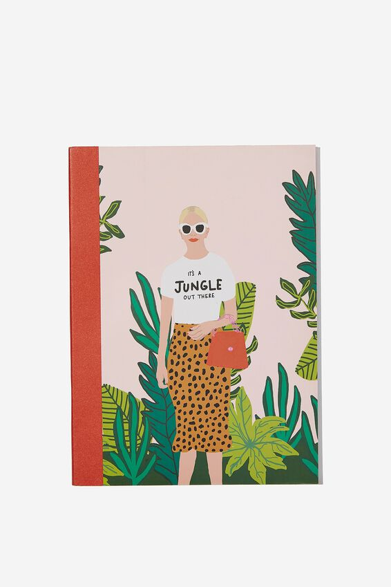 A5 Graduate Journal, JUNGLE OUT THERE GIRL