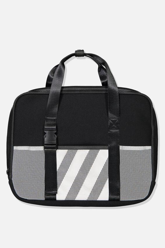 Metro Laptop Bag 15 Inch, BLACK