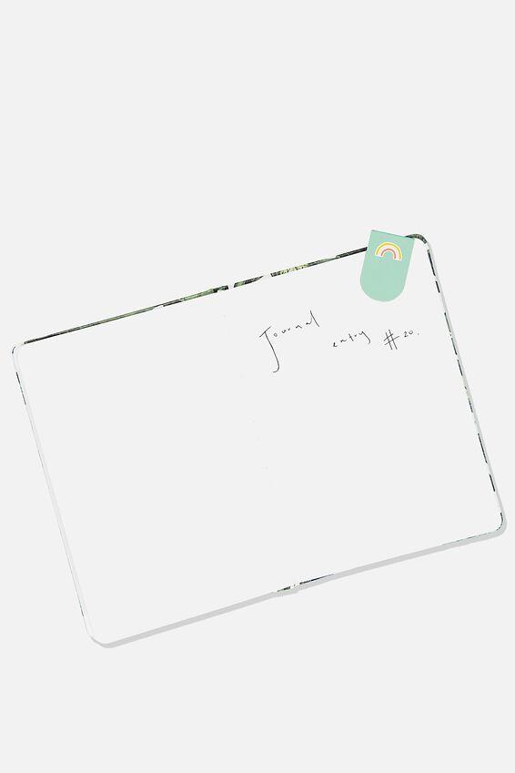 6Pk Magnetic Bookmark, FACES & RAINBOWS