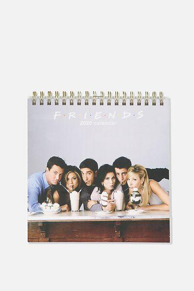 2020 Get A Date Flip Desk Calendar, LCN WB FRIENDS