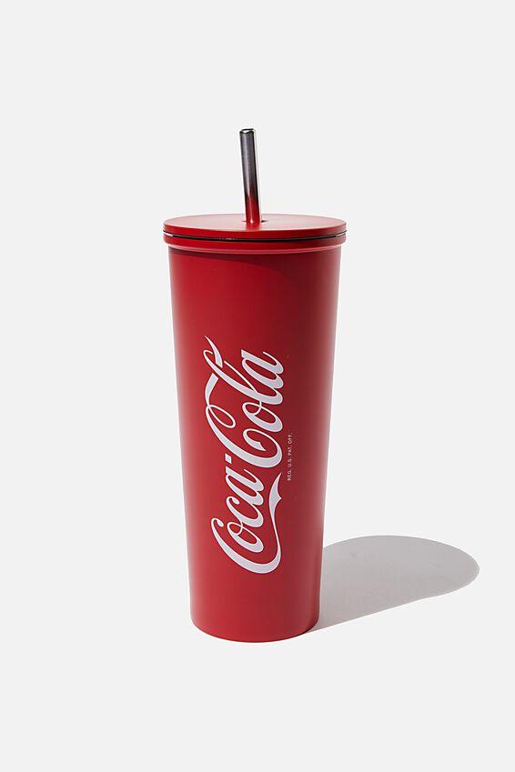 Metal Smoothie Cup, LCN COK COCA COLA