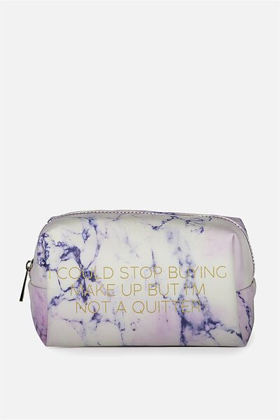Made Up Cosmetic Bag, LUSH MARBLE
