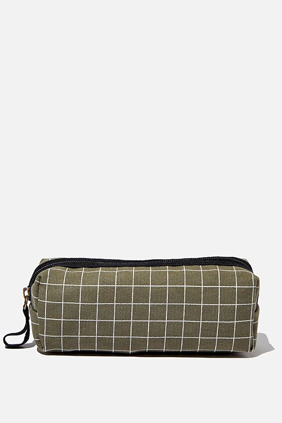 Conscious Bailey Case, GREEN GRID BCI COTTON
