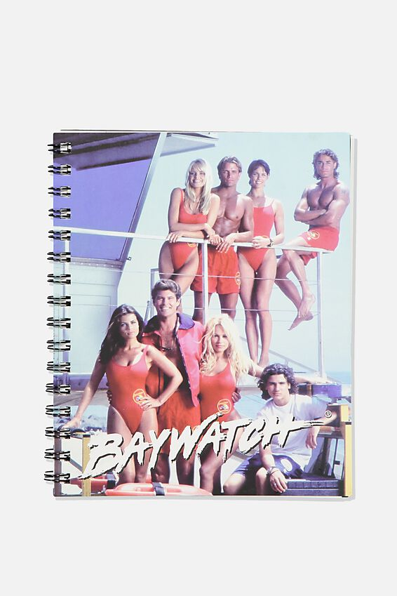 A5 Baywatch Campus Notebook Recycled, LCN FRE BW BAYWATCH