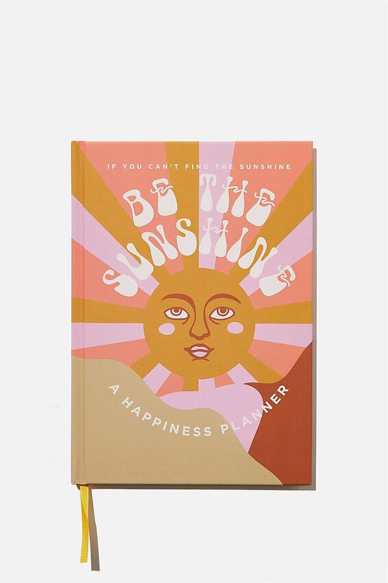 A5 Fashion Activity Journal, BE THE SUNSHINE