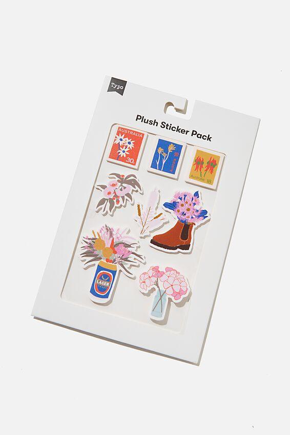 Plush Sticker Pack, AUSTRALIANA
