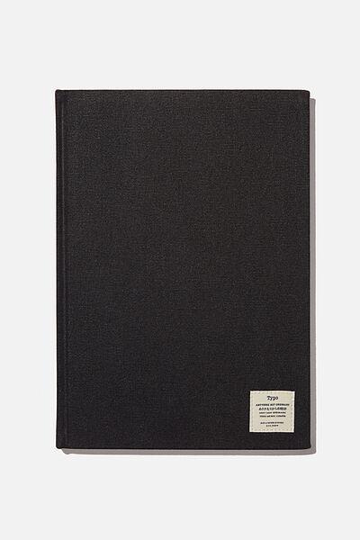 A4 Sketch Notebook, BLACK