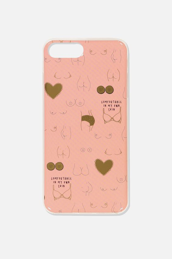 Printed Phone Cover 6,7,8 Plus, BOOBS & BUTTS!