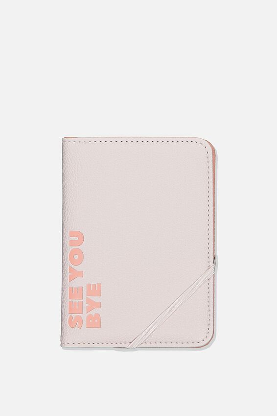 Rfid Passport Holder, VIOLA QUOTE