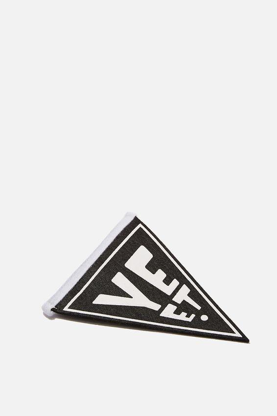 Mini Pennant Flag, YEET