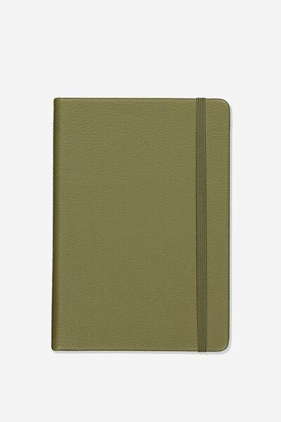 A5 Buffalo Journal, GREEN KHAKI