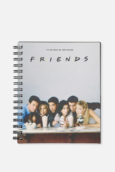 A5 Campus Notebook, LCN FRIENDS MILKSHAKE