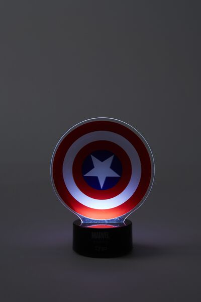 Mini Acrylic Light, LCN MAR CAPT AMERICA
