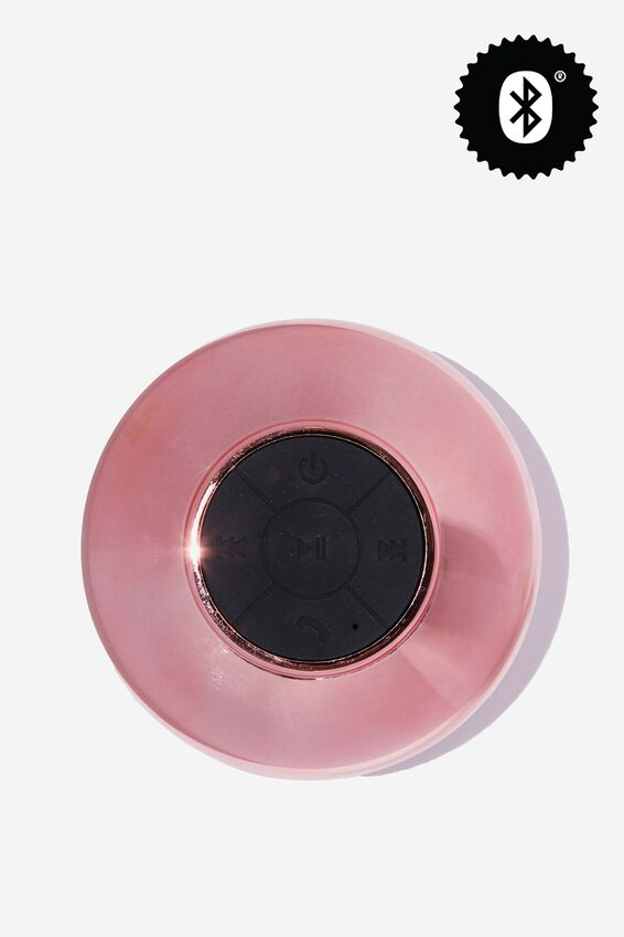 Waterproof Bluetooth Shower Speaker, SHINY ROSE