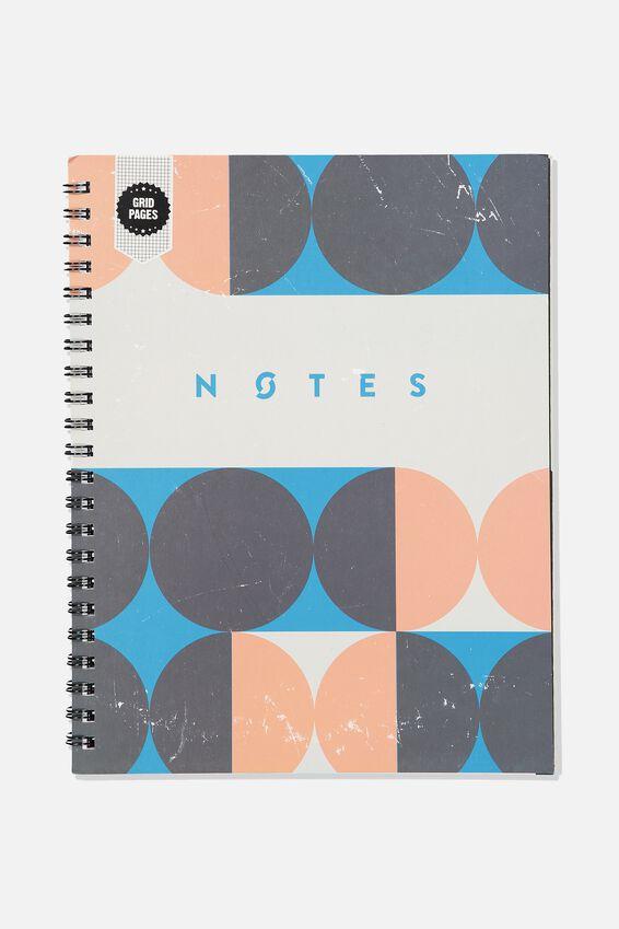 A4 Campus Notebook Grid Internal, CIRCLE  NOTES