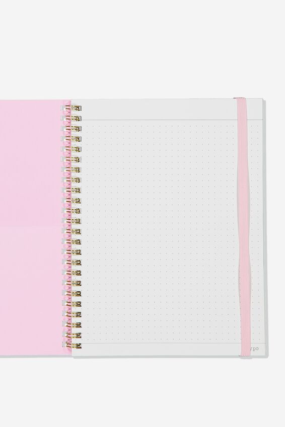 A5 Spinout Notebook Dot Page, ICONIC TIMES