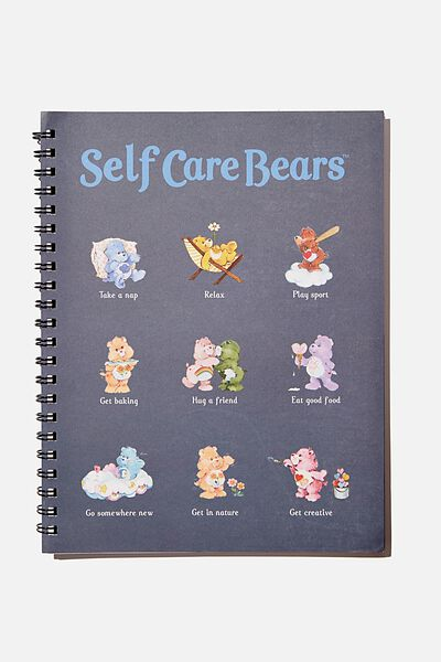 A4 Campus Notebook Recycled, LCN CAREBEARS SELF CARE GUIDE