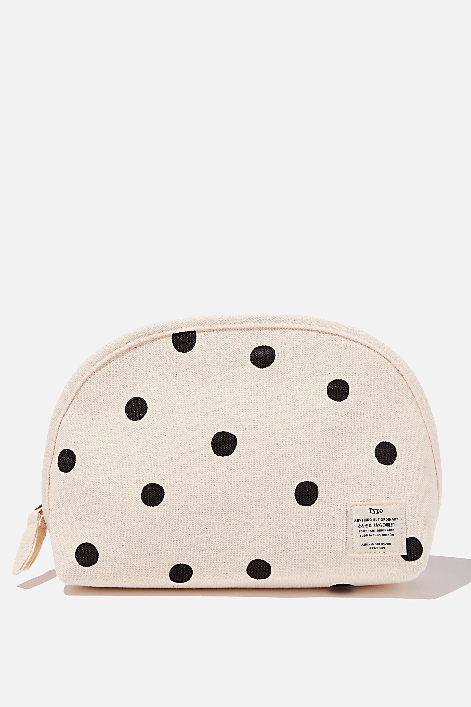 Typo Pink Panda Travel Neck Pillow with