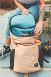Utility Recycled Backpack, DRIFTWOOD AND DENIM BLUE