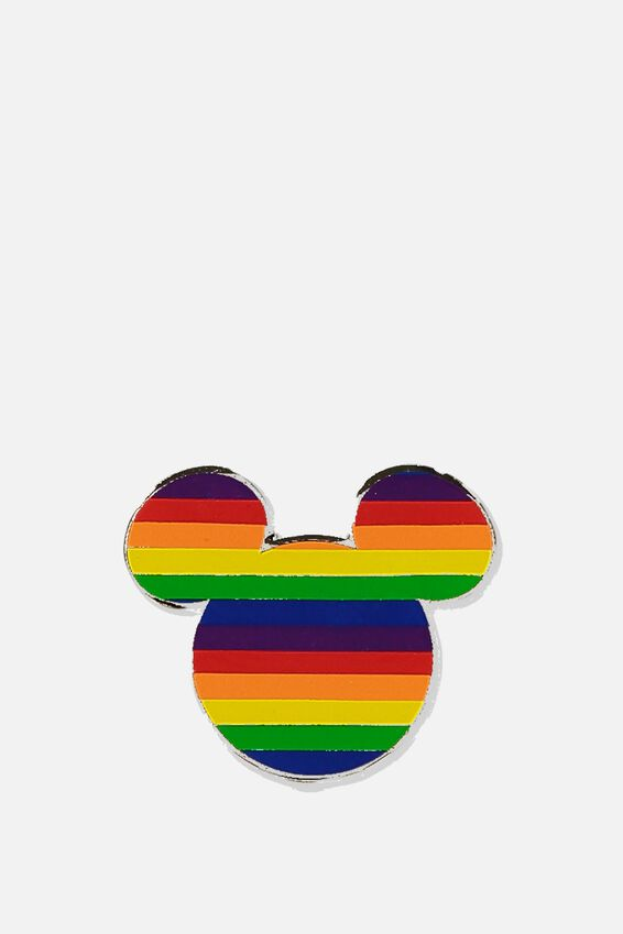 Disney Enamel Badge, LCN DIS MICKEY PRIDE