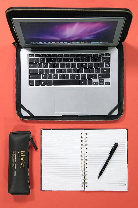 Notemaker Pen, MATTE BLACK
