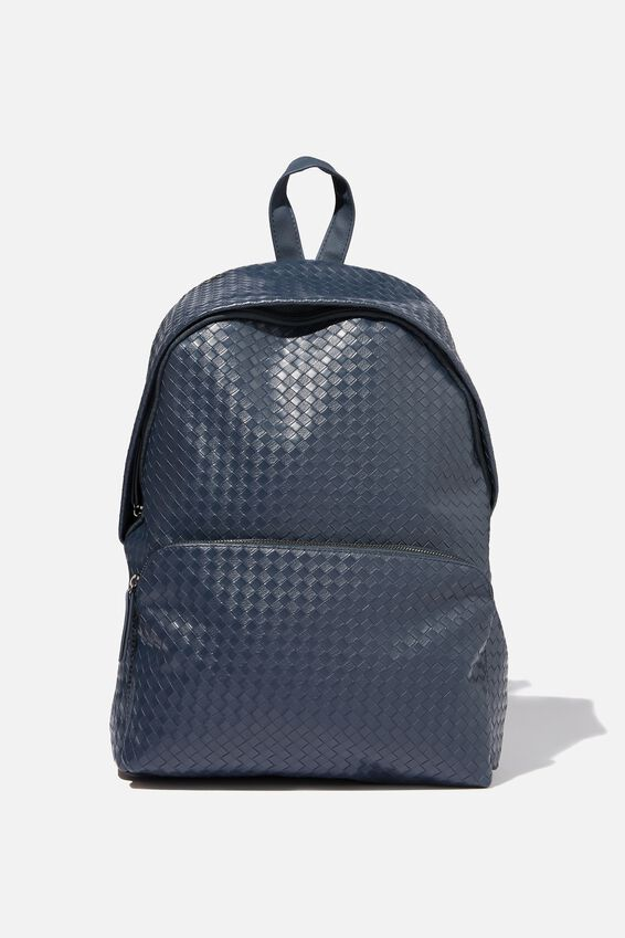 Austin Backpack, NAVY WEAVE