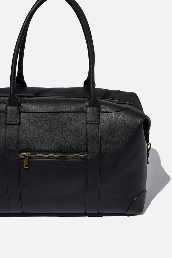 Nuevo Overnighter Bag, JETT BLACK
