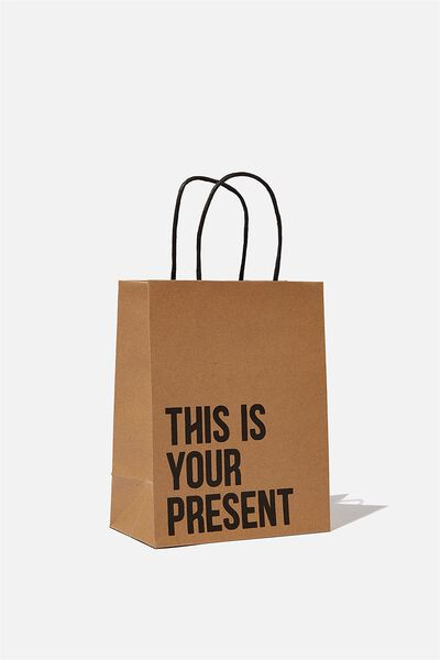 Get Stuffed Gift Bag - Small, THIS IS YOUR PRESENT CRAFT