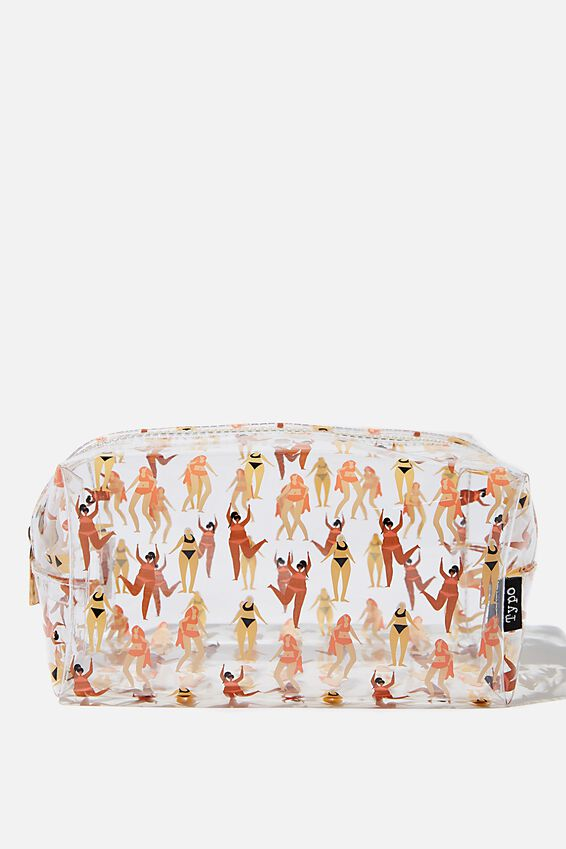 Brooklyn Pencil Case, SWIMMING LADIES
