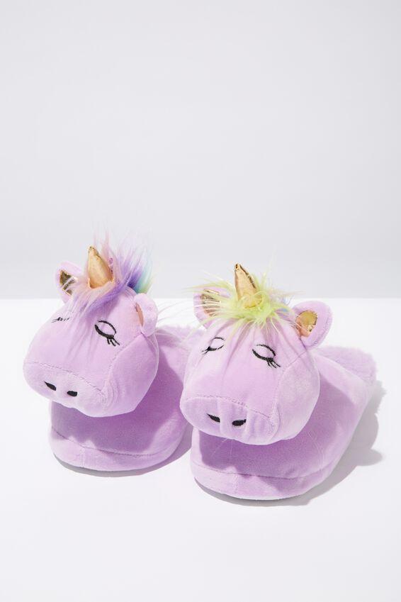 Novelty Slippers, NEW UNICORN