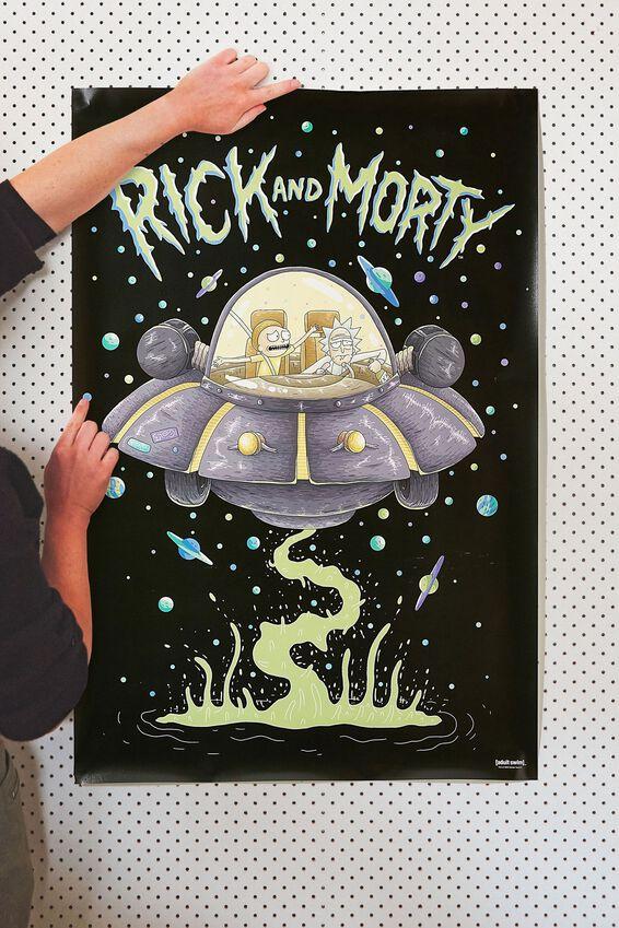 Rick & Morty Poster, LCN CNW RICK & MORTY