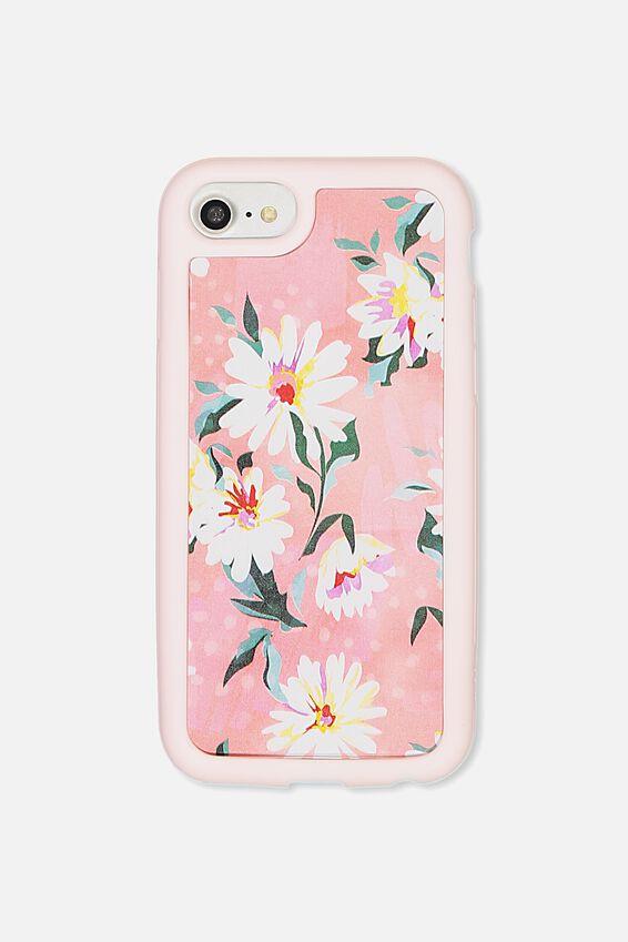 Superior Phone Case Universal 6,7,8, PINK DAISY