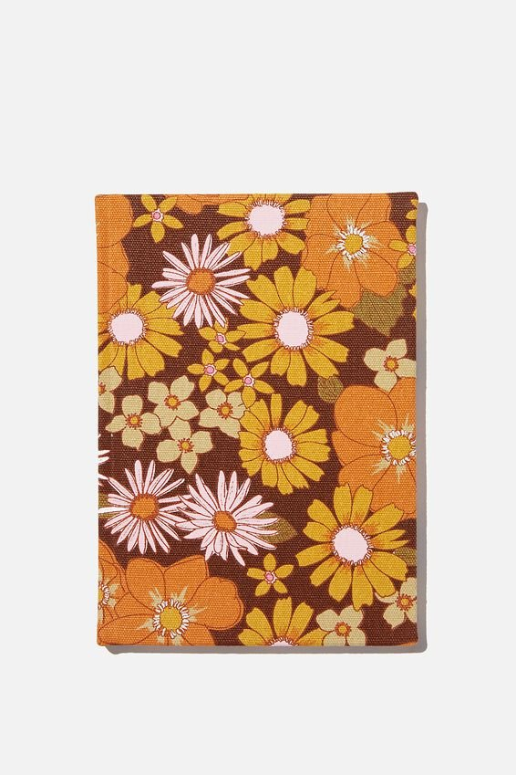 A5 Dot Oxford Notebook, STEVIE FLORAL
