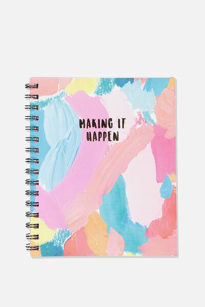 A5 Campus Notebook, MAKING IT HAPPEN