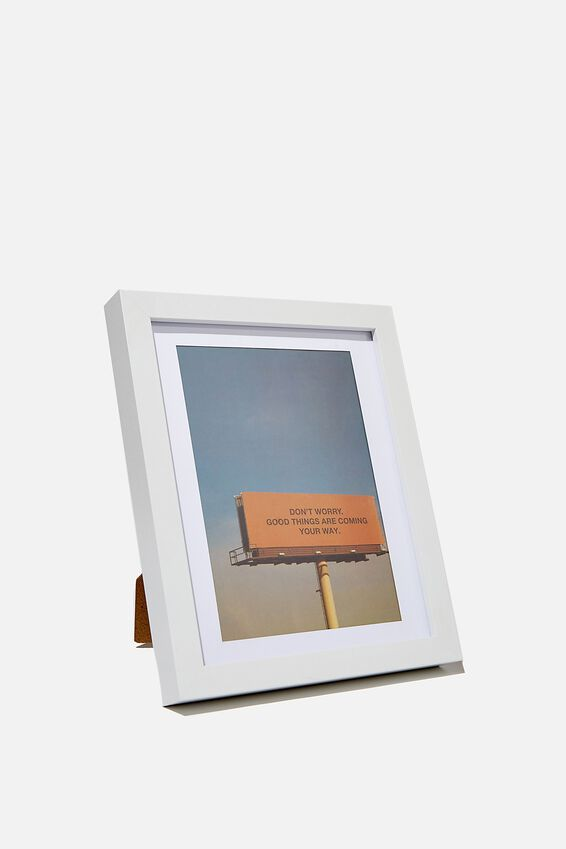 A5 Framed Print, DONT WORRY