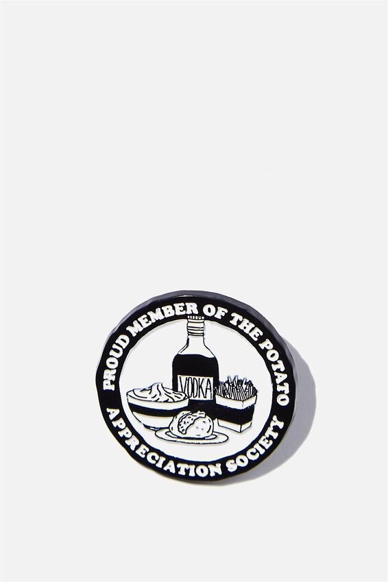 Enamel Badges, POTATO APPRECIATION