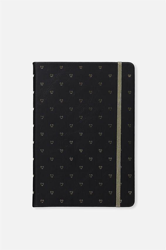 A5 Disney Mickey Buffalo Journal, LCN MICKEY HEADS