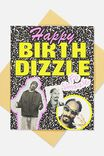 Snoop Dogg Funny Birthday Card, LCN MT SNO BIRTHDIZZLE